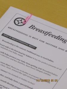 BF Benefits Handouts